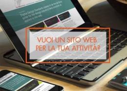Vuoi un sito web per la tua attività?